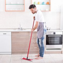 Tips for cleaning and maintaining the non- slip floors